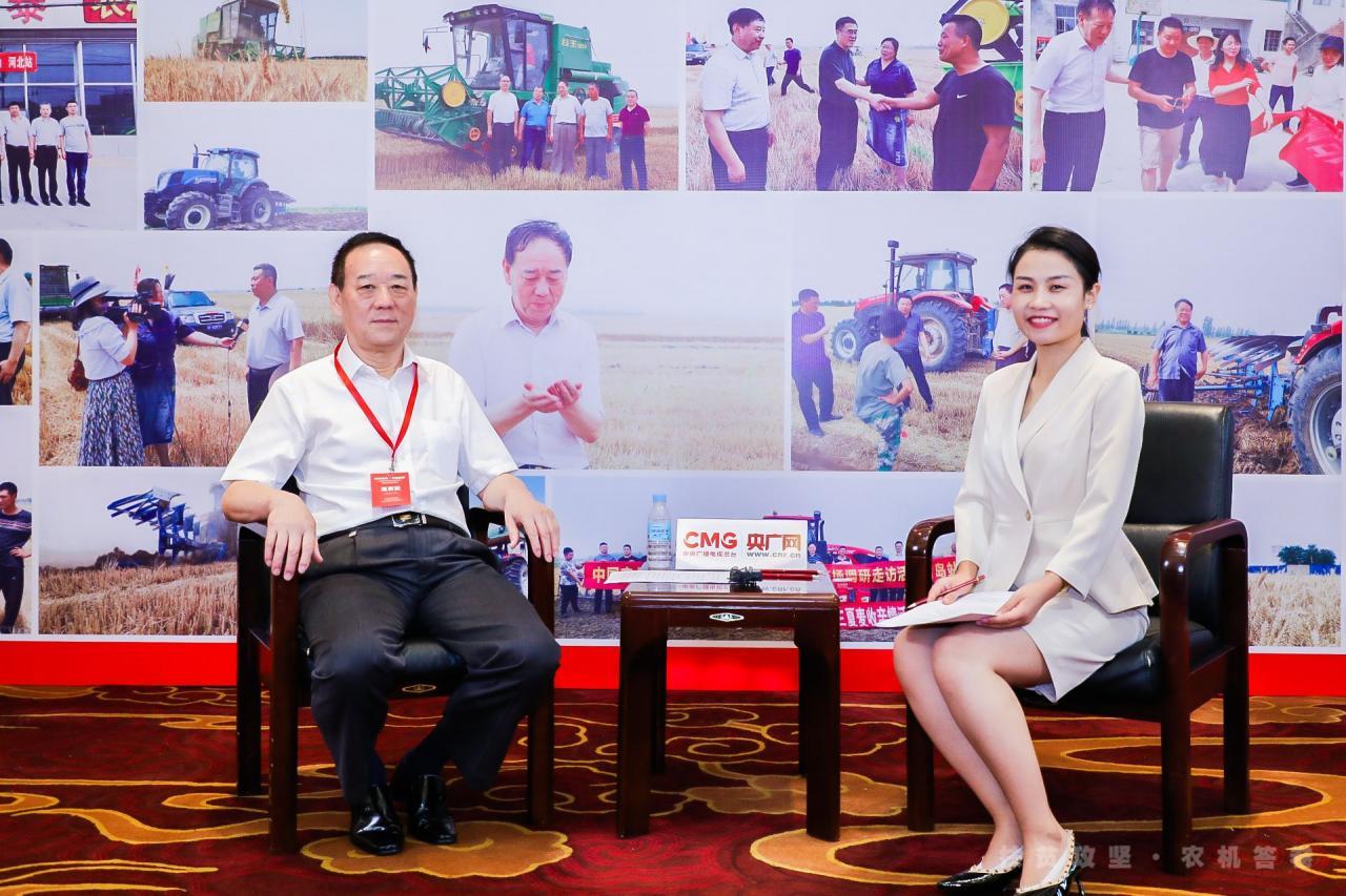《泰金888官方網站》提高政治站位  強化責任擔當——專訪中國農業機械流通協會會長毛洪