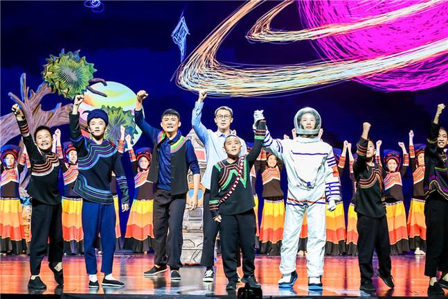 """賡續精神血脈 爭做時代新人--""""我和祖國一起成長""""2021年""""六一""""國際兒童節主題演出在京舉行"""