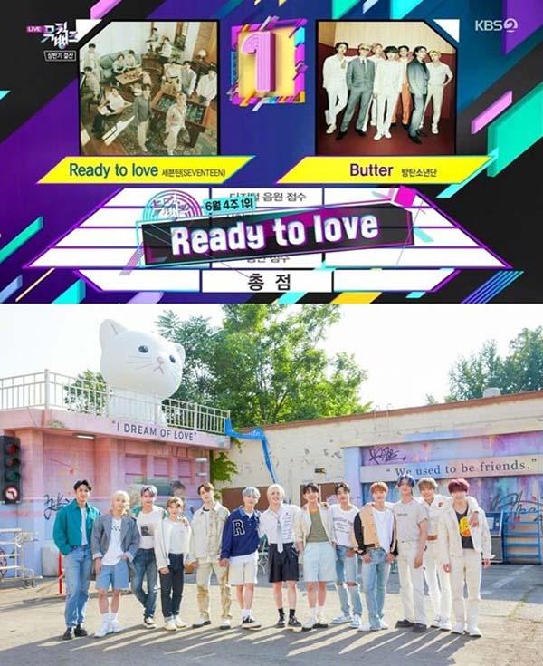 【泰金娛樂城註冊抽體驗金】SEVENTEEN《Ready to love》獲得《音樂銀行》1位 – 泰金888信用版代理網址