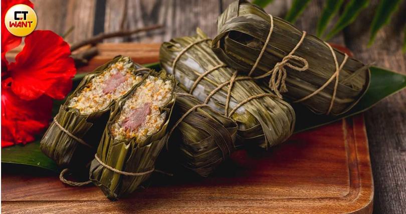 排灣部落常見的齊納福,也是節慶時餐桌上的佳餚。(圖/焦正德攝)