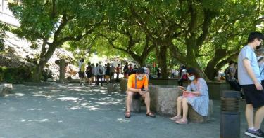 台南景點報復性旅遊 開學前遊客數半天破千